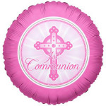 1st Communion Pink