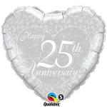 25th Anniversary Heart