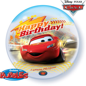 Cars Bday Bubble