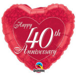 40th Anniversary Heart