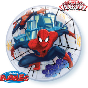 Spiderman Bubble