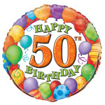 50 Birthday Balloons