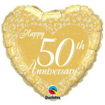 50th Anniversay Heart