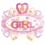 Baby Girl Marquee