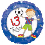 Boy 13 Today