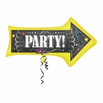 Chalkboard Birthday Arrow