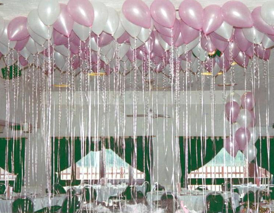 Private functions balloons of london for Balloon decoration london